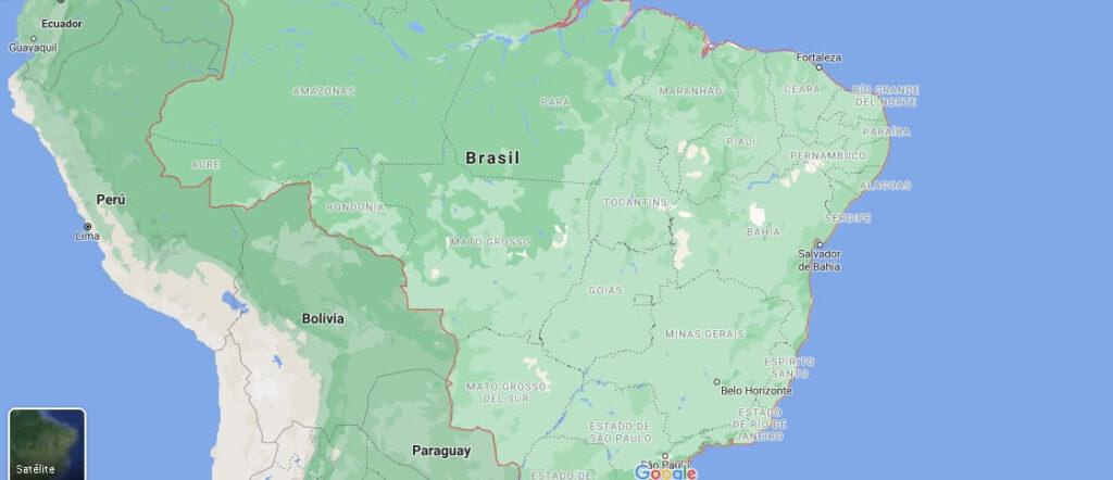 ¿Cómo se llama el país dónde está Brasil