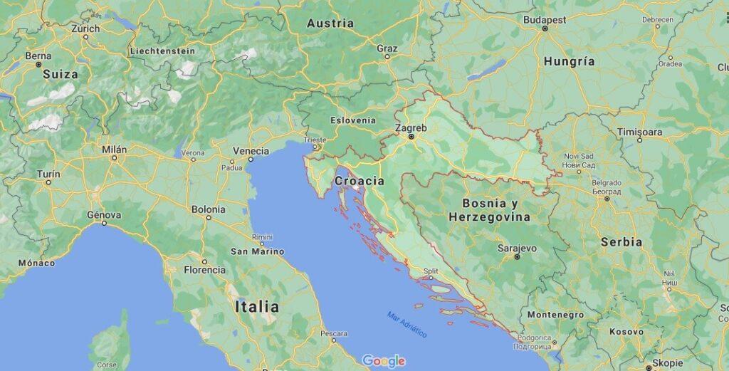 ¿Cuál es el nombre de la capital de Croacia