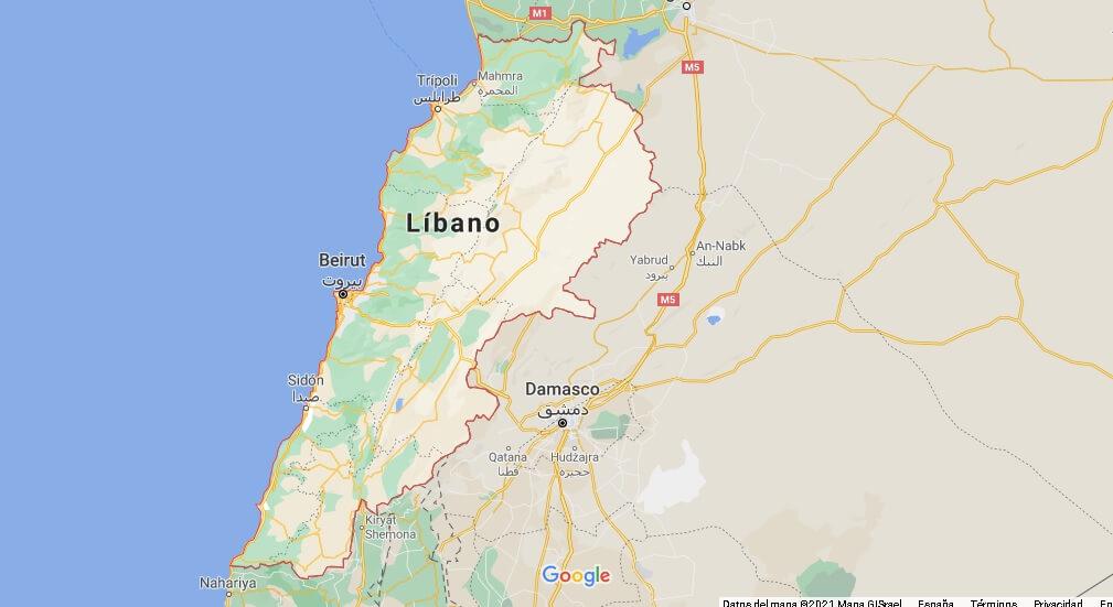 ¿Cuál es el país de Beirut