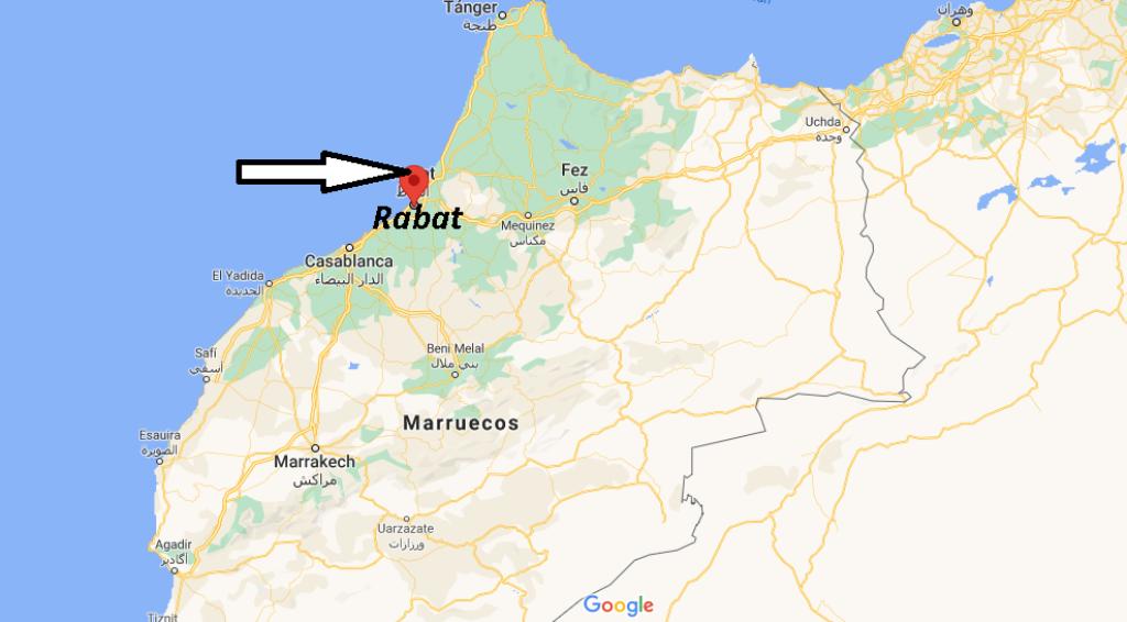 ¿Cuál es el país de la capital Rabat