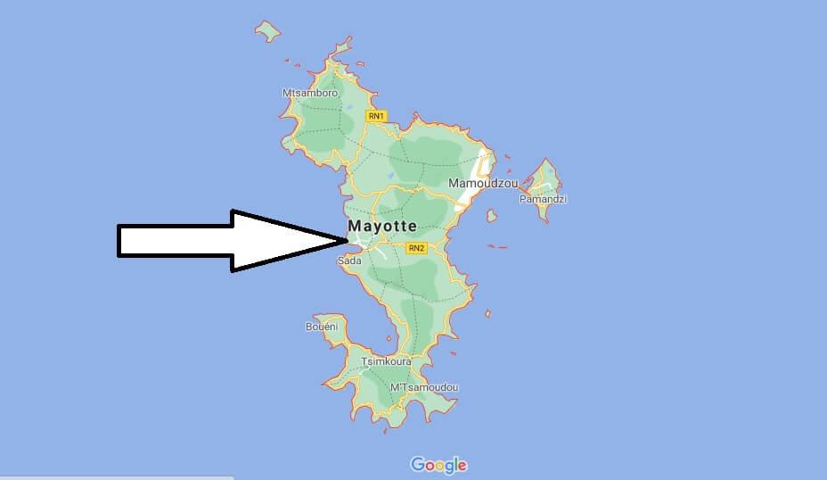 ¿Cuál es la capital de Mayotte