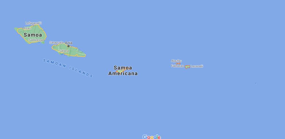 ¿Cuál es la capital de Samoa Americana