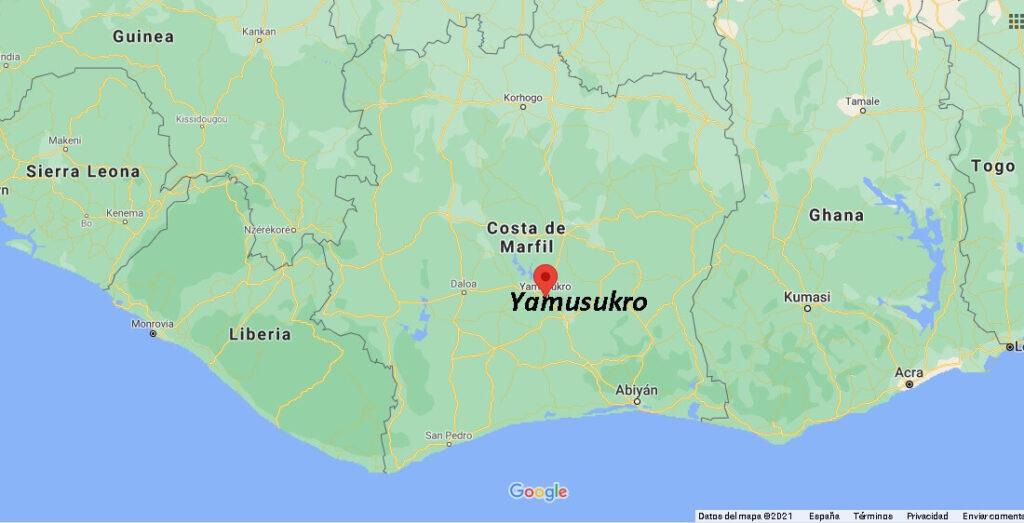 ¿Cuál es la capital de la Costa de Marfil