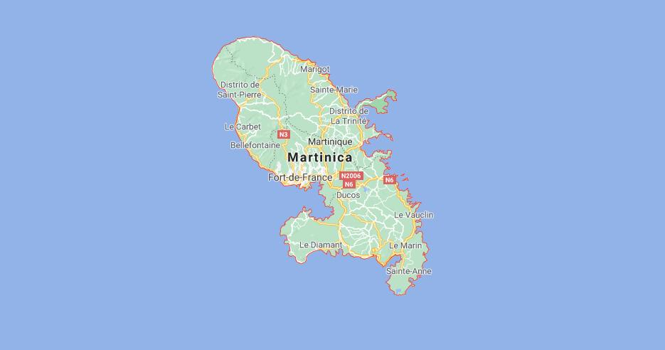 ¿Cuál es la capital de la Martinique