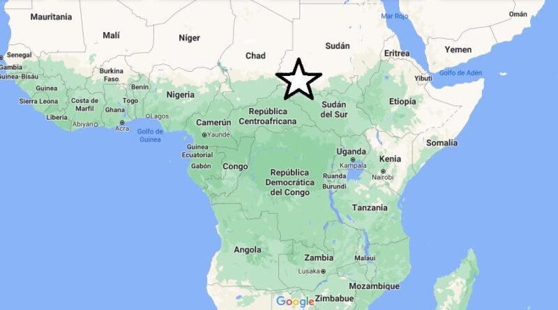 ¿Dónde está África Central