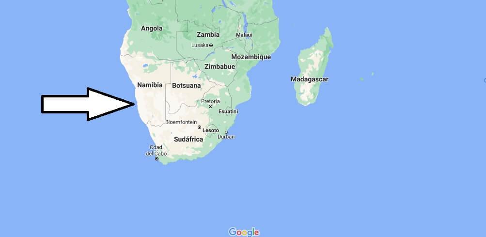 ¿Dónde está África meridional