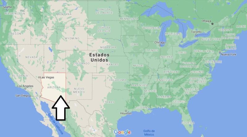 ¿Dónde está Arizona