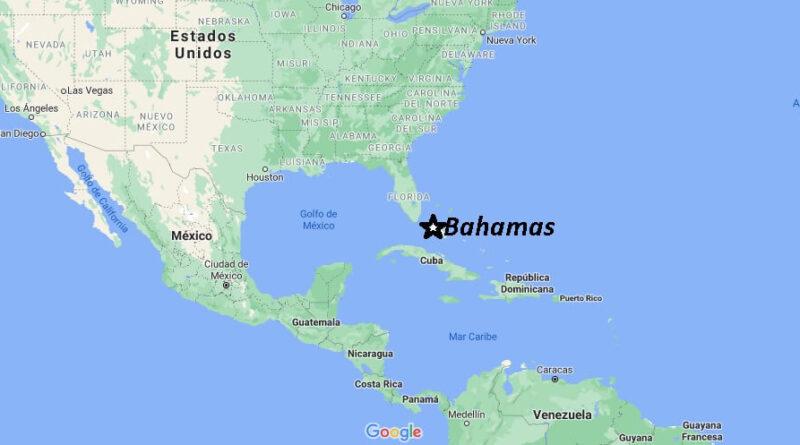 ¿Dónde está Bahamas