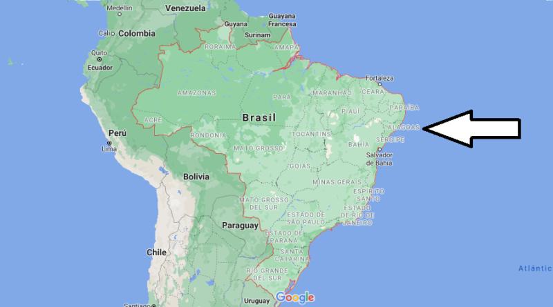 ¿Dónde está Brasil