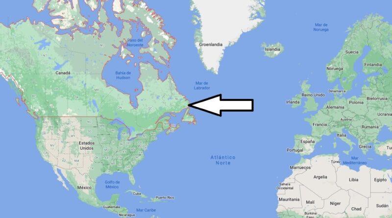 ¿Dónde está Canadá