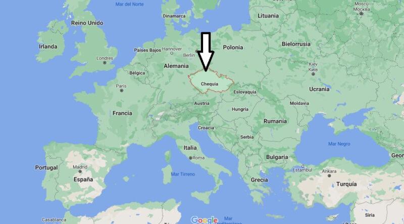¿Dónde está Chequia