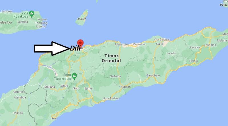¿Dónde está Dili