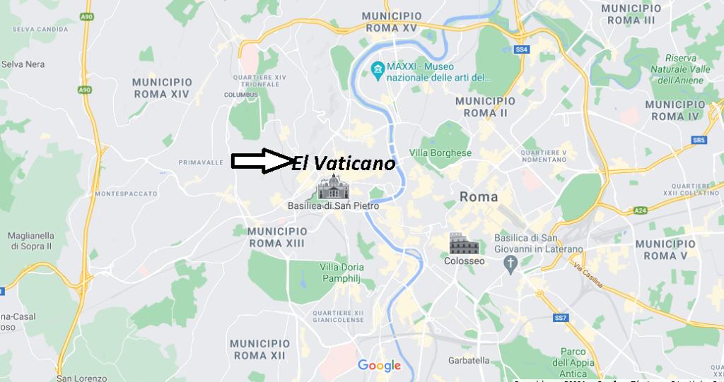 ¿Dónde está El Vaticano