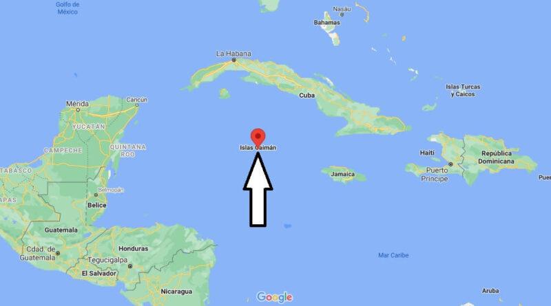 ¿Dónde está Islas Caimán