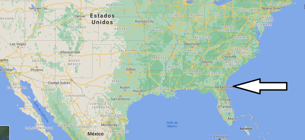 ¿Dónde está Jacksonville