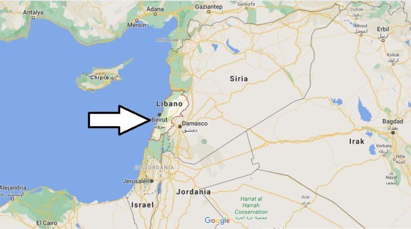 ¿Dónde está Líbano