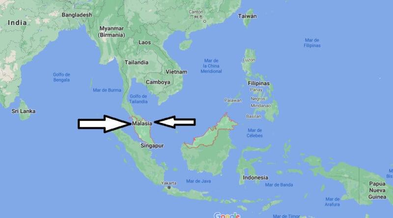 ¿Dónde está Malasia