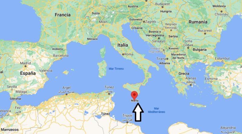 ¿Dónde está Malta