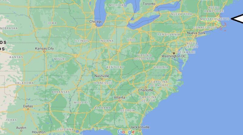 ¿Dónde está Massachusetts