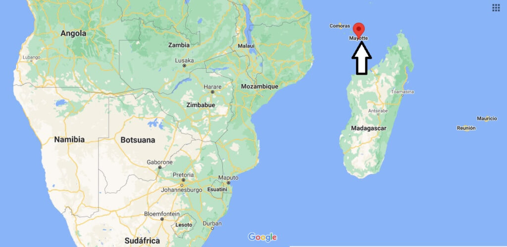 ¿Dónde está Mayotte