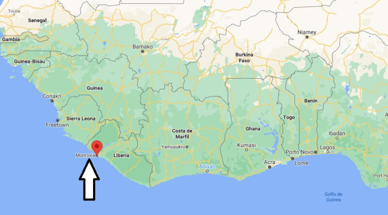 ¿Dónde está Monrovia