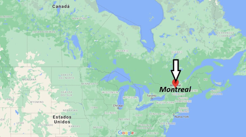 ¿Dónde está Montreal