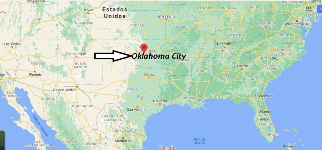 ¿Dónde está Oklahoma City