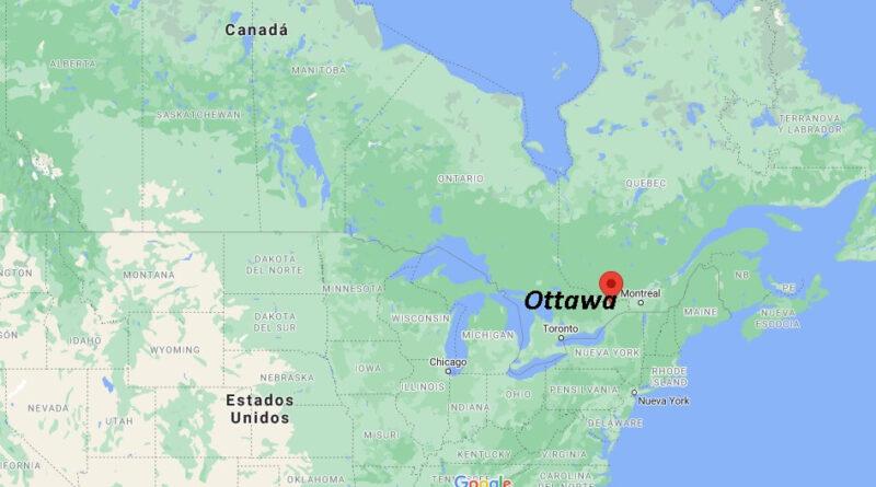¿Dónde está Ottawa