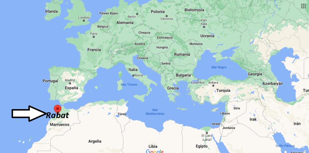 ¿Dónde está Rabat