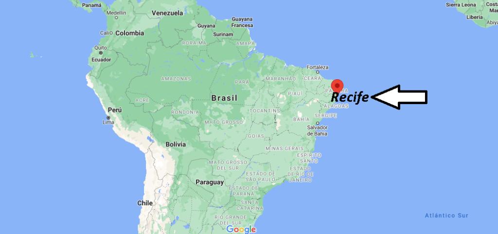 ¿Dónde está Recife