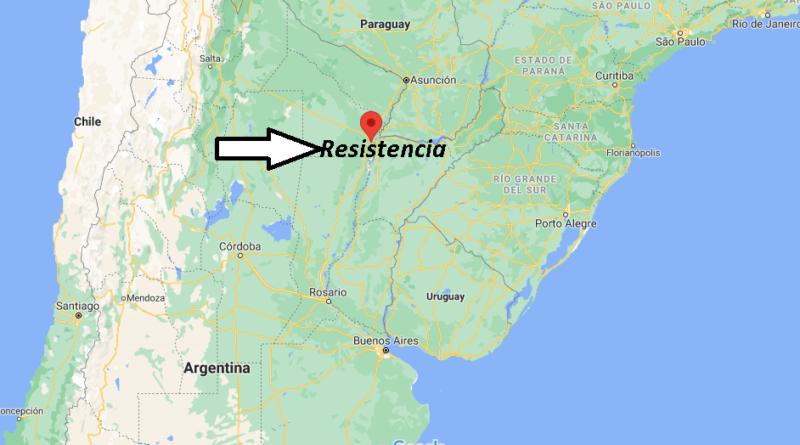¿Dónde está Resistencia