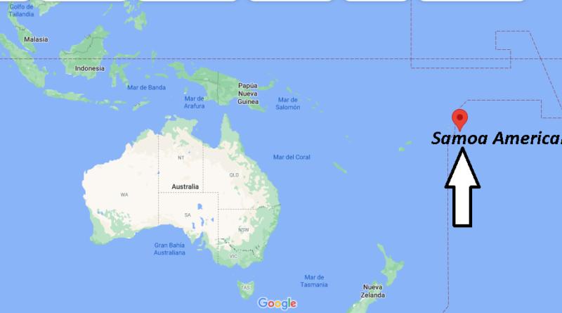 ¿Dónde está Samoa Americana