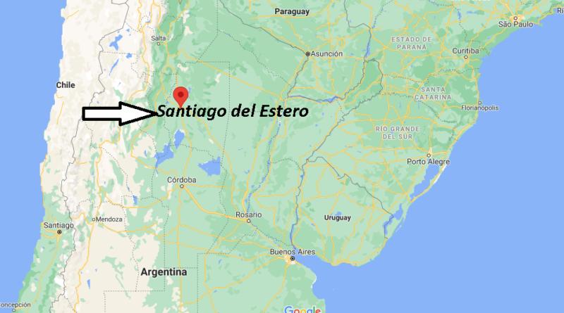 ¿Dónde está Santiago del Estero