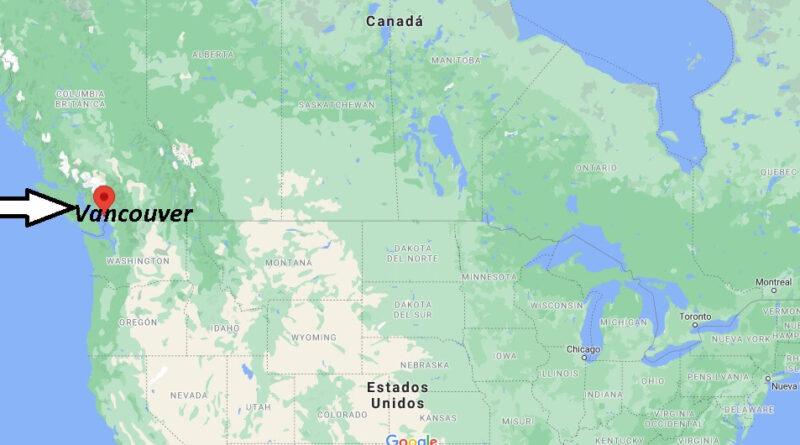 ¿Dónde está Vancouver