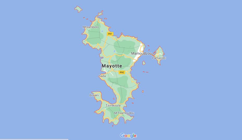 ¿Dónde está la isla Mayotte