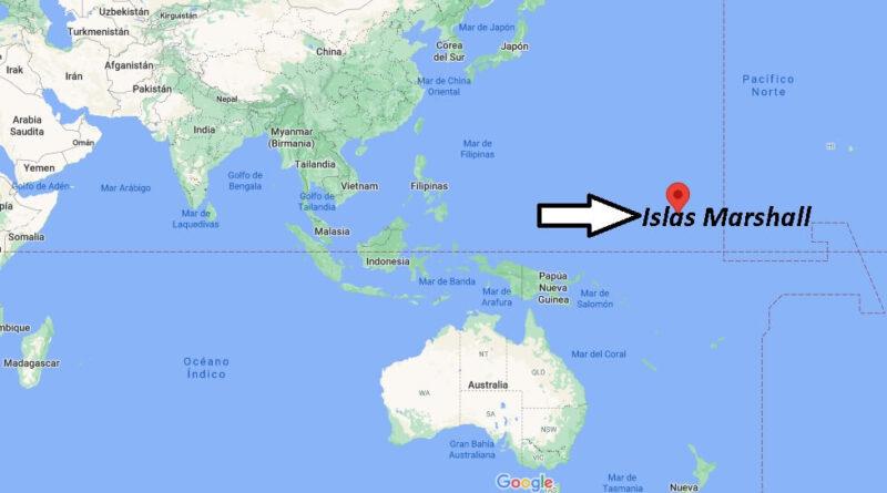 ¿Dónde está las Islas Marshall