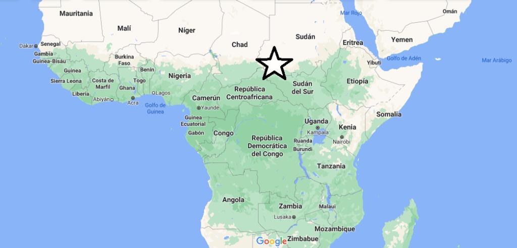 ¿Dónde queda África Central