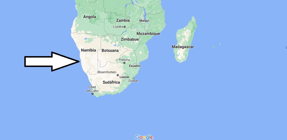 ¿Dónde queda África meridional
