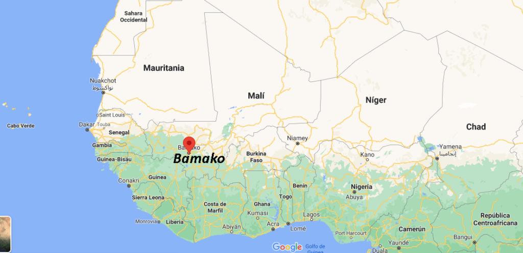 ¿Dónde queda Bamako