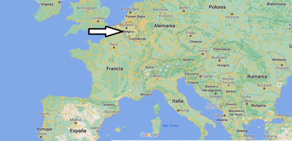 ¿Dónde queda Bélgica
