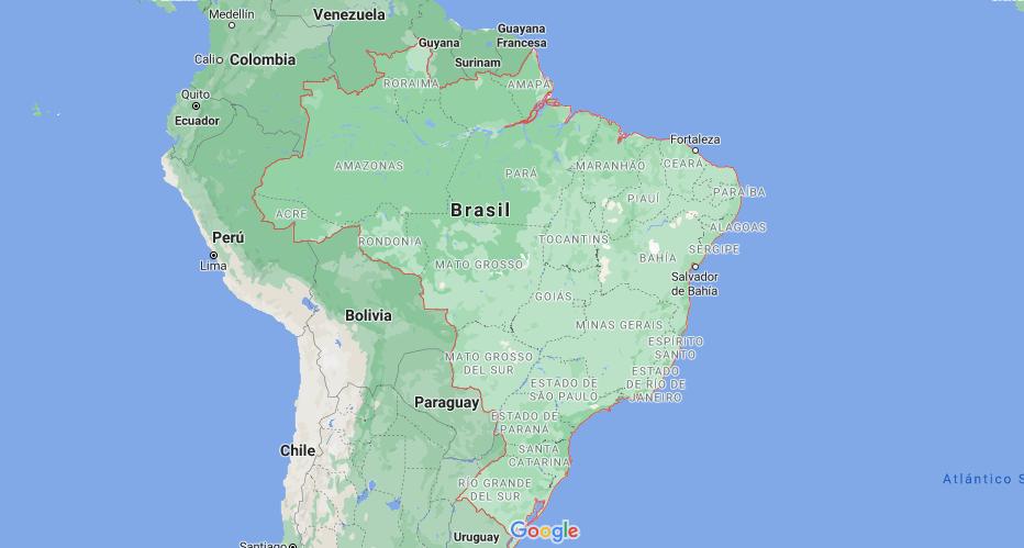 ¿Dónde queda Brasil