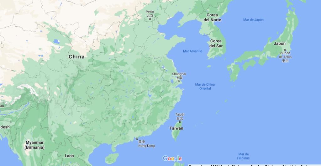 ¿Dónde queda Corea del Norte