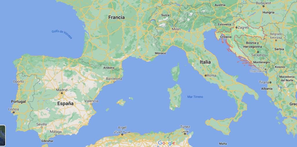 ¿Dónde queda Croacia