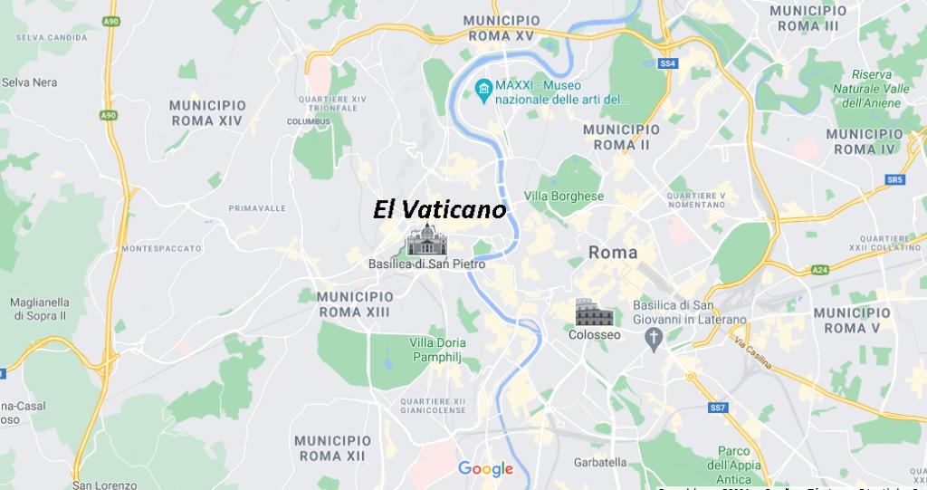 ¿Dónde queda El Vaticano