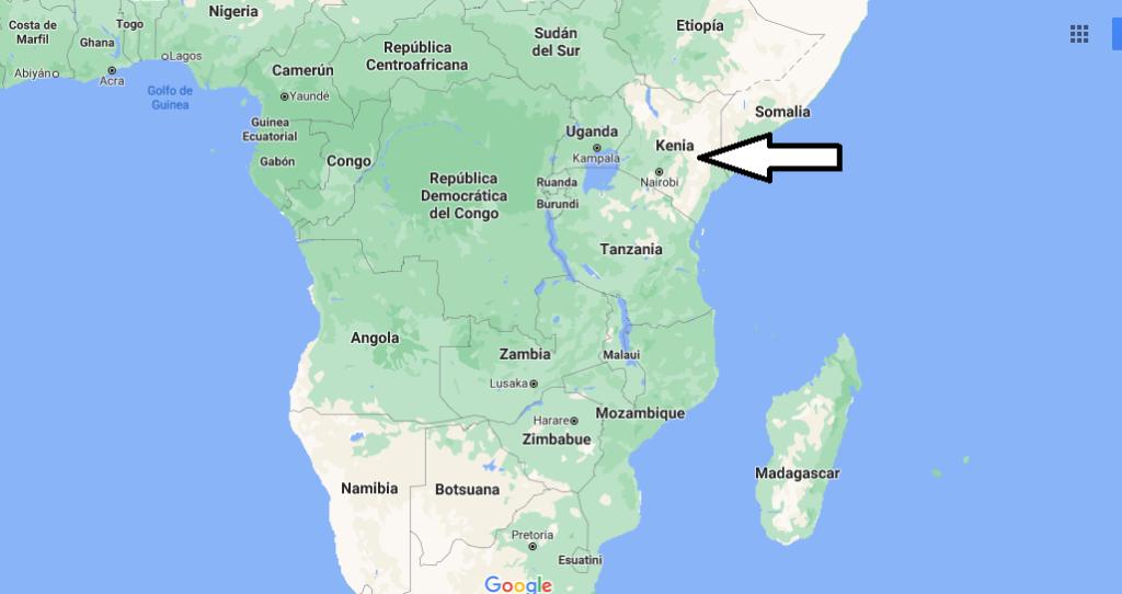¿Dónde queda Kenia
