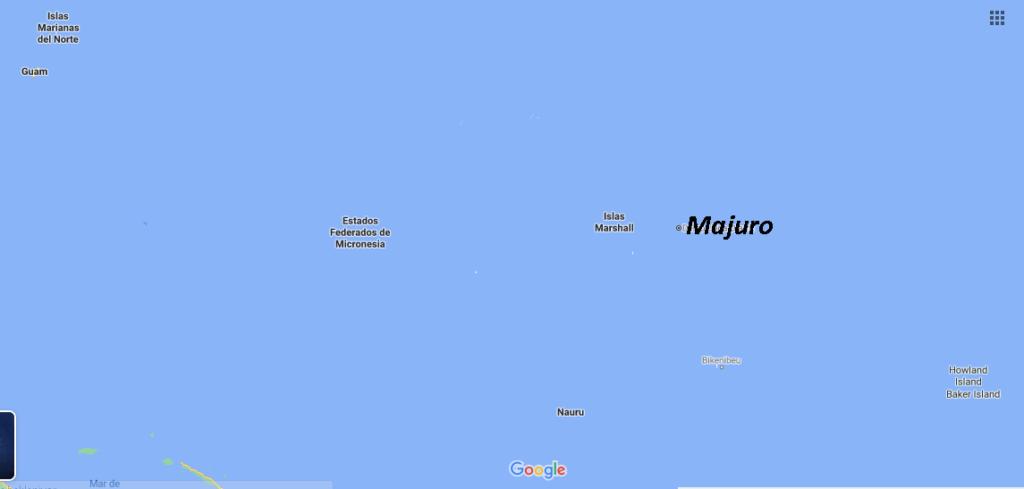 ¿Dónde queda Majuro