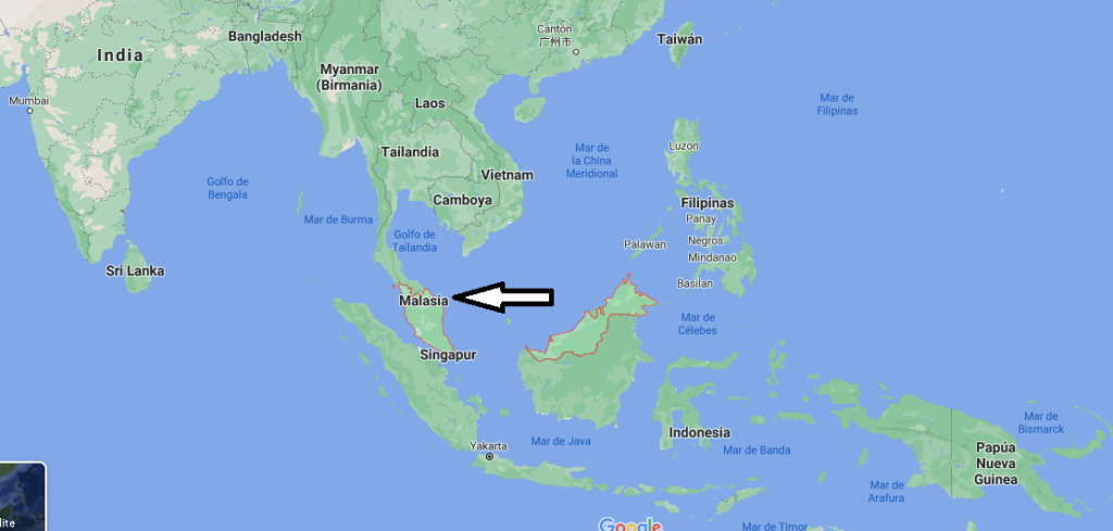 ¿Dónde queda Malasia
