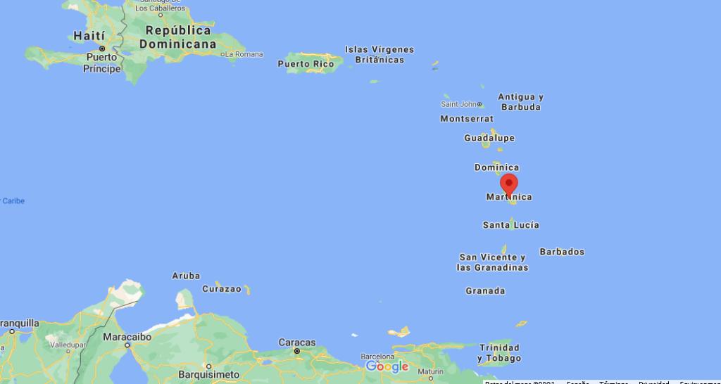 ¿Dónde queda Martinica