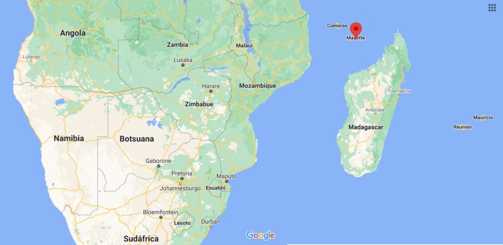 ¿Dónde queda Mayotte