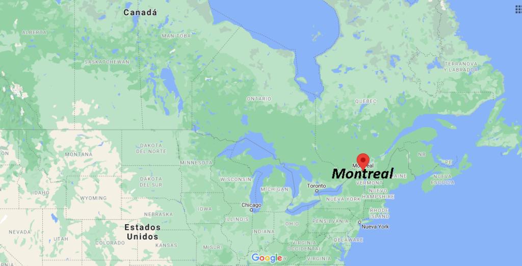 ¿Dónde queda Montreal en qué país
